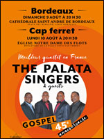 GOSPEL: THE PALATA SINGERS - LES CELEBRES CHANTS TRADITIONNELS