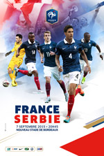 FRANCE / SERBIE - MATCH INTERNATIONAL