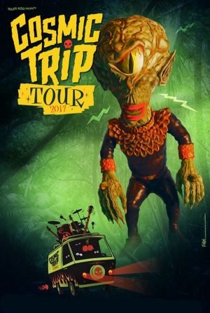 COSMIC TRIP TOUR 2017 - POWERSOLO + WEIRD OMEN