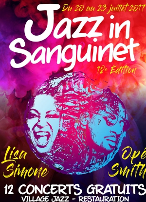 "LISA SIMONE ""MY WORLD"" - FESTIVAL JAZZ IN SANGUINET 2017"