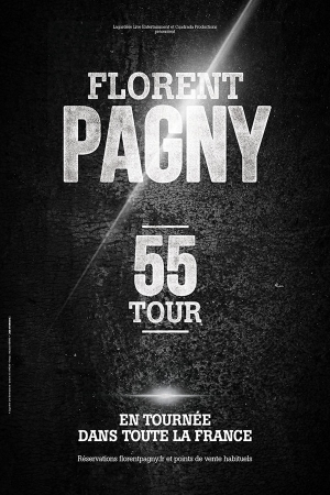 FLORENT PAGNY - 55 TOUR