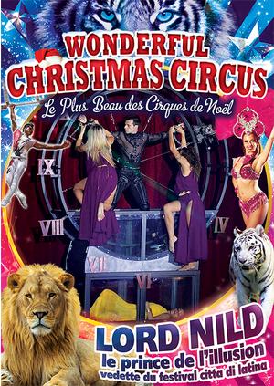 Wonderful christmas circus parc des expositions de noron for Parc des expositions niort