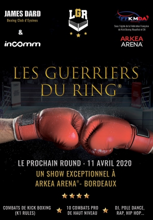 LES GUERRIERS DU RING - GALA DE KICK-BOXING (K1 RULES)