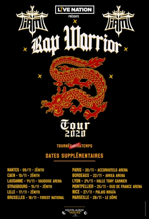 IAM - RAP WARRIOR TOUR