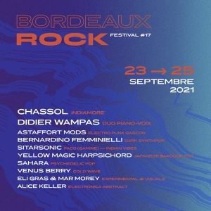PASS 3 SOIRS GRAND PARC - FESTIVAL BORDEAUX ROCK 2021