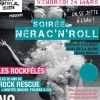 affiche SOIREE NERAC'N'ROLL - NO MONEY KIDS, ROCK RESCUE...