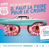 affiche FOIRE INTERNATIONALE DE BORDEAUX