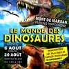 affiche Exposition dinosaures