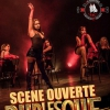 affiche SCENE OUVERTE BURLESQUE - ORGANISEE PAR BETTY CRISPY ET L?ABC