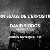 affiche Vernissage Exposition David Siodos