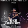 affiche FRANCIS LALANNE - VOICES INFLUENCE GOSPEL
