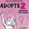 affiche ADOPTE 2 #BALANCE TON JULES