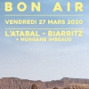 affiche BON AIR + MORGANE IMBEAUD - RELEASE PARTY BON AIR « SAUVAGE »
