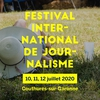 affiche Festival international de journalisme 2020