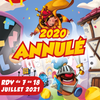 affiche Festival Ludique International de Parthenay (FLIP) 2020 ANNULÉ