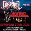 affiche ALCATRAZZ + GIRLSCHOOL + ASOMVEL