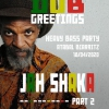 affiche JAH SHAKA MEETS EQUAL BROTHERS - DUB GREETINGS